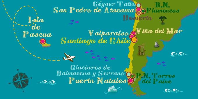 Chile - Karte