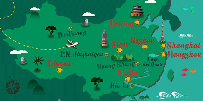 China - Karte