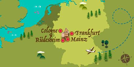 Deutschland - Karte