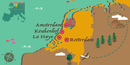 Holland - Karte