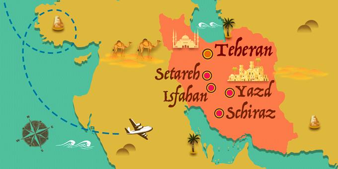 Iran - Karte