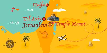 Israel - Karte