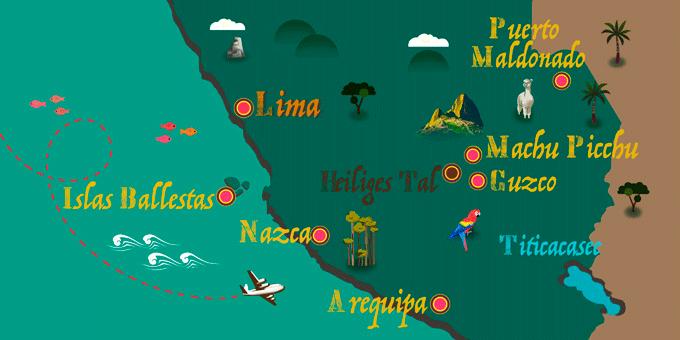 Peru - Karte
