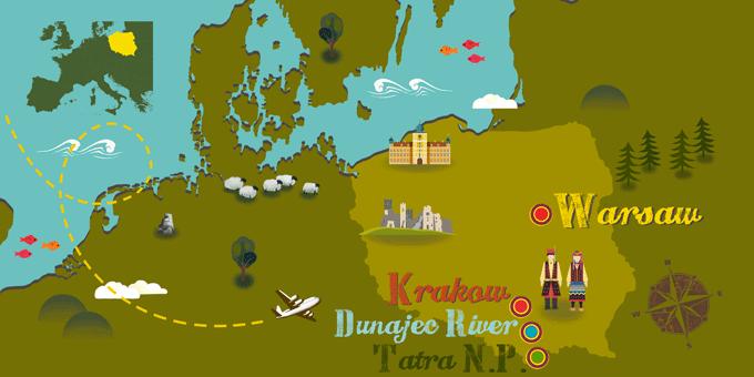 Polen - Karte