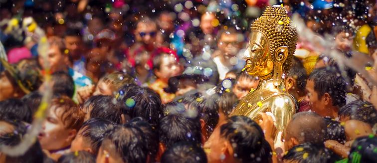 Das Songkran Festival