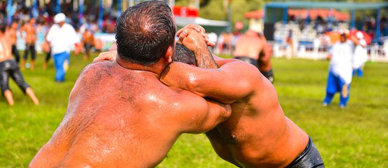 Öl-Ringkampffest von Edirne