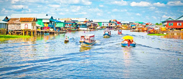 Wasserfestival in Phnom Penh