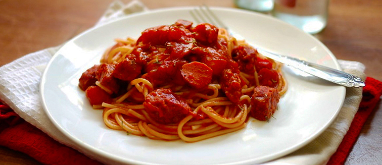 Philippinische Spagetti