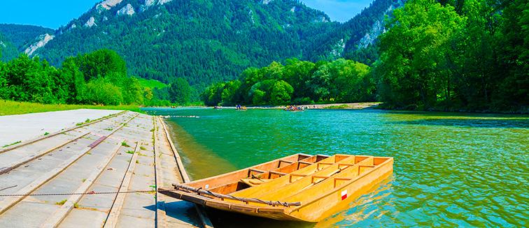 Der Fluss Dunajec