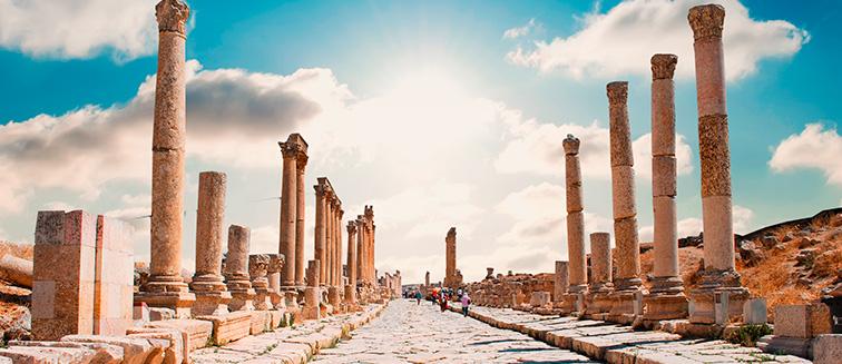 Jerash oder Gerasa