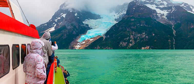 Serrano & Balmaceda Glaciers
