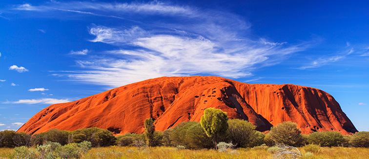 Uluru und Ayers Rock