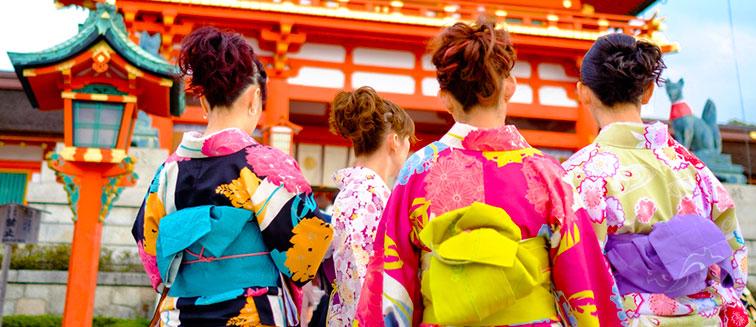 Kimono oder Yukata