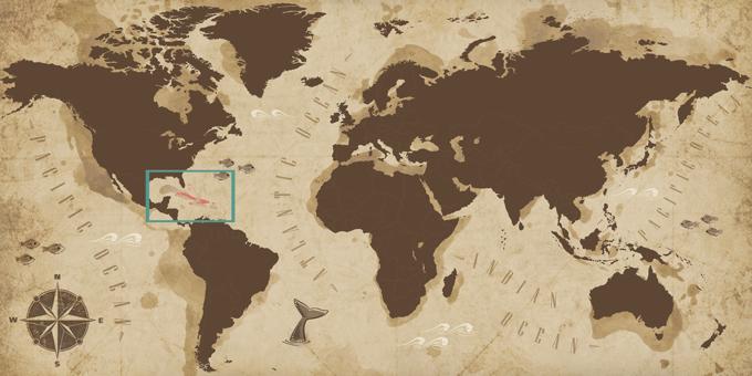 Karibik - Karte