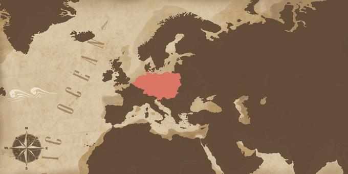 Mitteleuropa - Karte