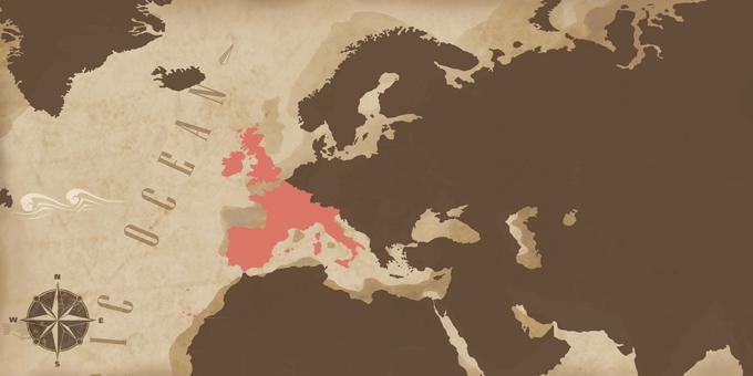 Westeuropa - Karte