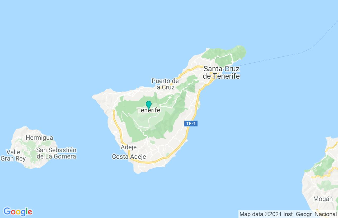Karte mit Reiseroute in Spanien